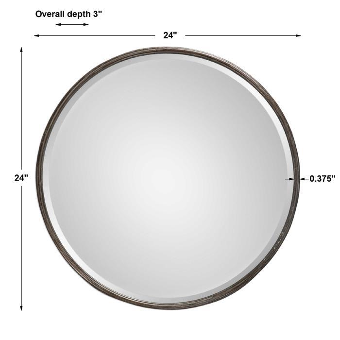 Uttermost - Nova Round Mirror