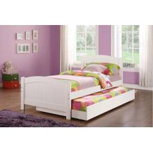 Laurence Twin Bed, White