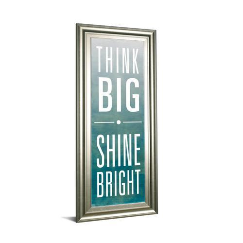 """Shine"" By Sd Studios Framed Print Wall Art"