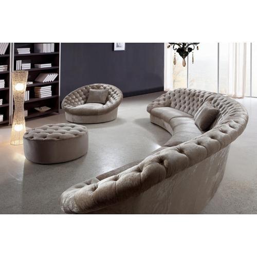 Divani Casa Cosmopolitan - Sectional Sofa, Chair and Ottoman