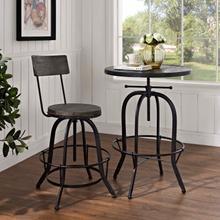 See Details - Procure Wood Bar Stool in Black