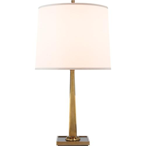 Visual Comfort BBL3024SB-S Barbara Barry Petal 26 inch 150 watt Soft Brass Decorative Table Lamp Portable Light