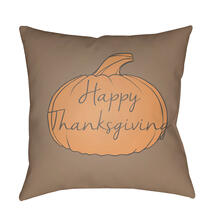 "Happy Thanksgiving HPY-003 18""H x 18""W"