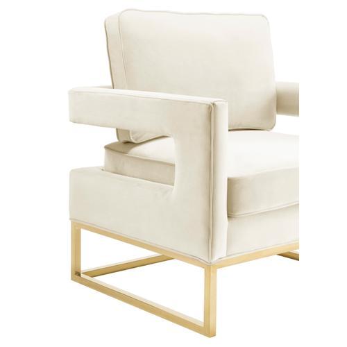 Avery Cream Velvet Chair