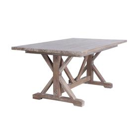 Dining Table, Available in Vintage Smoke Finish Only.