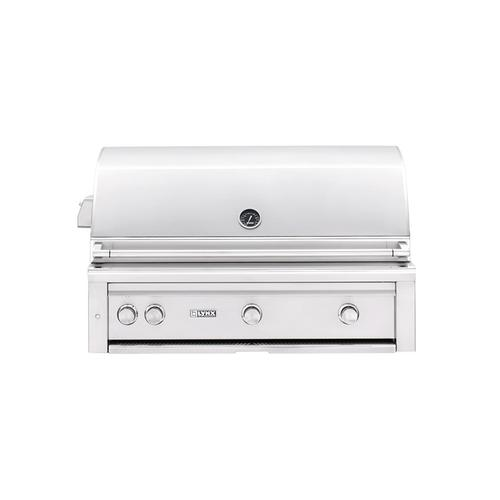 """Lynx - 42"""" Built-in Grill with Rotisserie (L42R-1) - Liquid propane"""