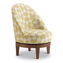 See Details - LOFLIN Swivel Barrel Chair