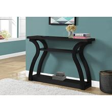 "ACCENT TABLE - 47""L / BLACK HALL CONSOLE"