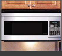 View Product - OVER THE RANGE MICROWAVE OVEN