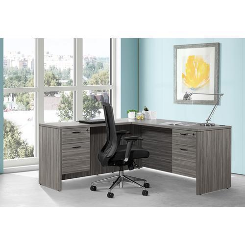 Office Star - High Back Black Vertical Mesh Chair