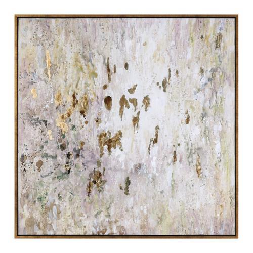 Uttermost - Golden Raindrops Hand Painted Canvas