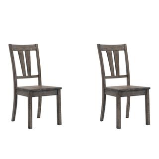 See Details - Nathan Fan Back Chair w. Wooden Seat