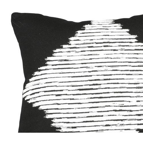 """Smolder Noir 24"""" x 24"""" Pillow"""