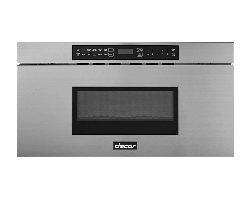 """Dacor30"""" Microwave-In-A-Drawer, Silver Stainless Steel"""