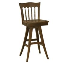 Model 912 Swivel Bar Stool Wood Seat