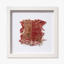 0351760010 Vintage Rug Fragment Wall Art