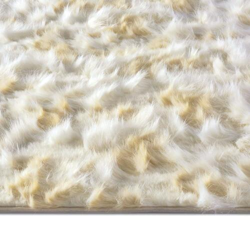 "Capel Rugs - Luxe Shag Artic Cream - Rectangle - 24"" x 36"""