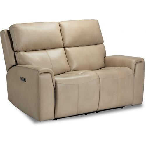 Jarvis Power Reclining Loveseat with Power Headrests