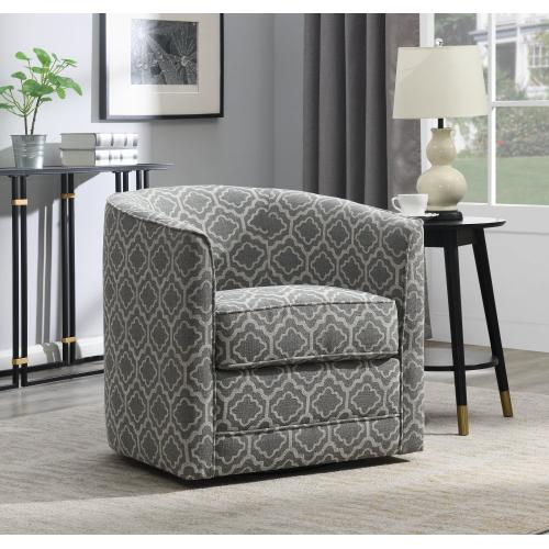 Emerald Home Milo U5029c-04-43a Swivel Chair - Joelle Ash