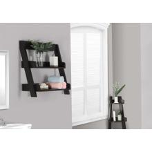 "BATHROOM ACCENT - 24""H / ESPRESSO WALL MOUNT SHELF"