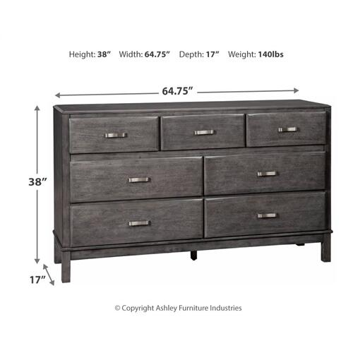 Queen Storage Bed With 8 Storage Drawers With Dresser