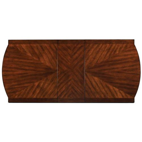 """Gallery - Insignia Dining Table with 18"""" Leaf, Brown"""