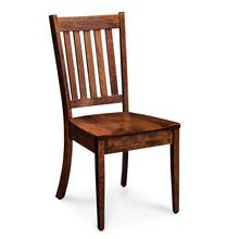 View Product - Wright Side Chair, Wood Seat