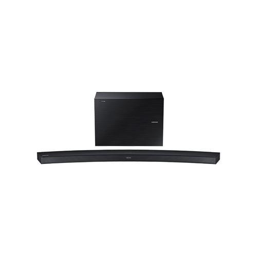 Samsung - HW-J4000 Curved Soundbar W/ Wireless Subwoofer