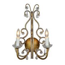 Fitzjohn Beaded Crystal Sconce