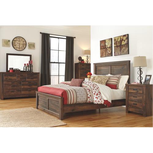 B246 Five Drawer Chest (Quinden Dark Brown)