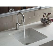 """See Details - Single-Control Sink Faucet, 10"""" Spout Height - Nickel Silver"""