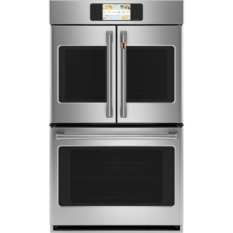 """Café Professional Series 30"""" Smart Built-In Convection French-Door Double Wall Oven"""