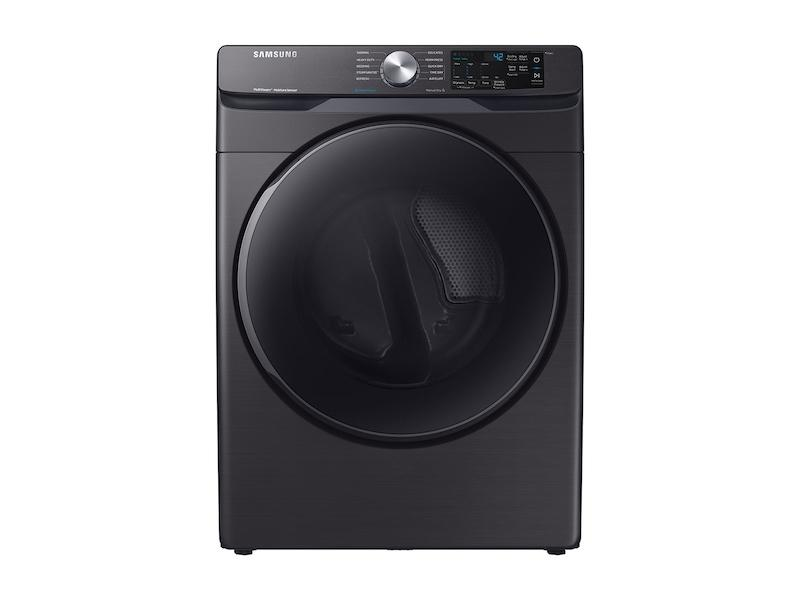 7.5 cu. ft. Electric Dryer with Steam Sanitize+ in Black Stainless Steel