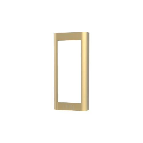 Interchangeable Faceplate (for Video Doorbell Wired) - Brushed Gold