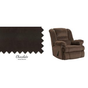 Chocolate Rocker/Recliner