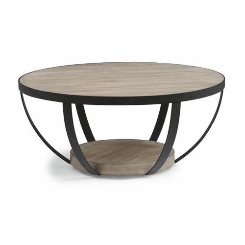 Flexsteel - Compass Round Coffee Table