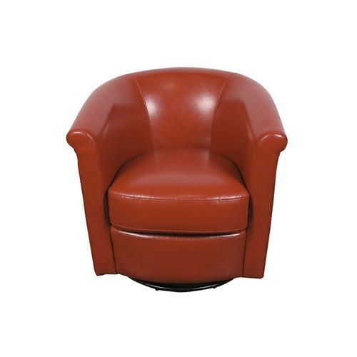 Marvel Orange Swivel Chair, AC215