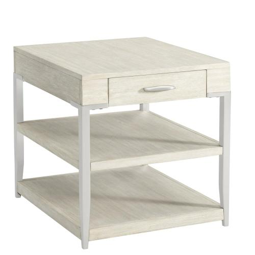 Lilly - Side Table - Champagne Finish