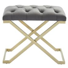 Rada Bench in Grey/Gold