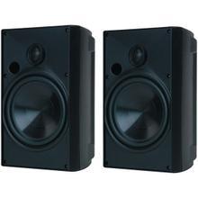 """See Details - 6.5"""" Indoor/Outdoor Speakers (Black)"""