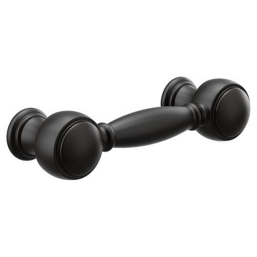 Weymouth matte black drawer pull