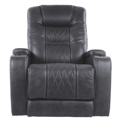 Composer Power Recliner/Adjustable Headrest Gray