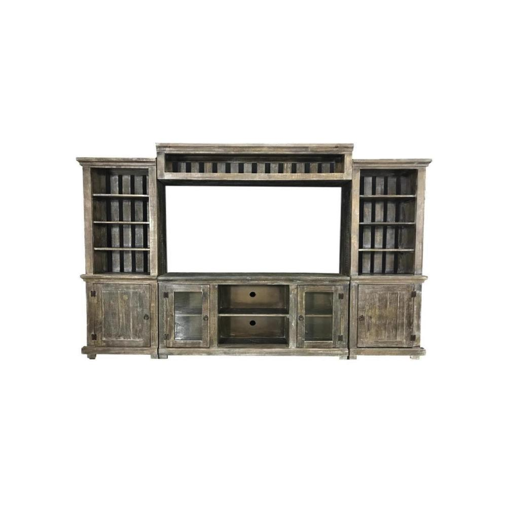 Factory 7 4-Piece Entertainment Wall