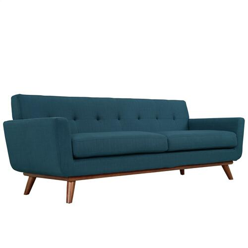 Modway - Engage Sofa Loveseat and Armchair Set of 3 in Azure