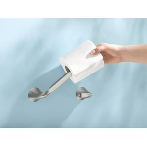 Oxby brushed nickel paper holder