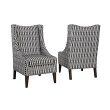 Hayden Chair in Shalimar Tuxedo Fabric