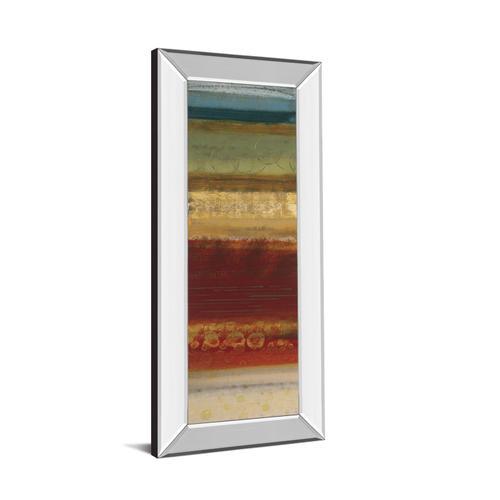 "Classy Art - ""Serrate Il"" By Selina Werbelow Mirror Framed Print Wall Art"