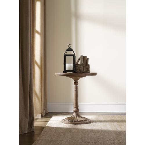 Corsica Round Bedside Table