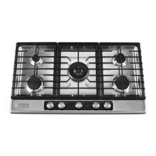 36-Inch 5 Burner Gas Cooktop, Architect® Series II - Stainless Steel - SPECIAL OPEN BOX/RETURN CLEARANCE @ SANTA FE STORE # 376198