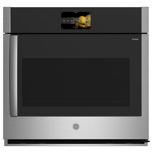"""GE Appliances - GE Profile™ 30"""" Smart Built-In Convection Single Wall Oven with Right-Hand Side-Swing Doors"""
